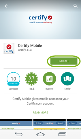 Installing Certify Mobile - Android – Certify Help Center