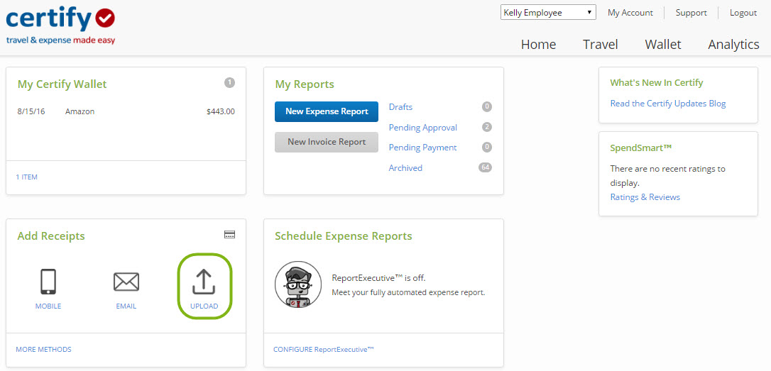 Creating And Submitting An Invoice Report Certify Help Center - Submitting invoices for payment