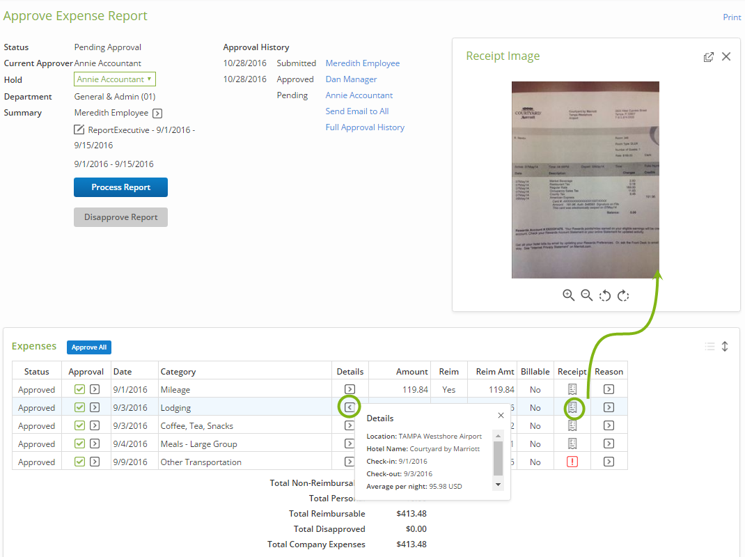 processing expense reports certify help center